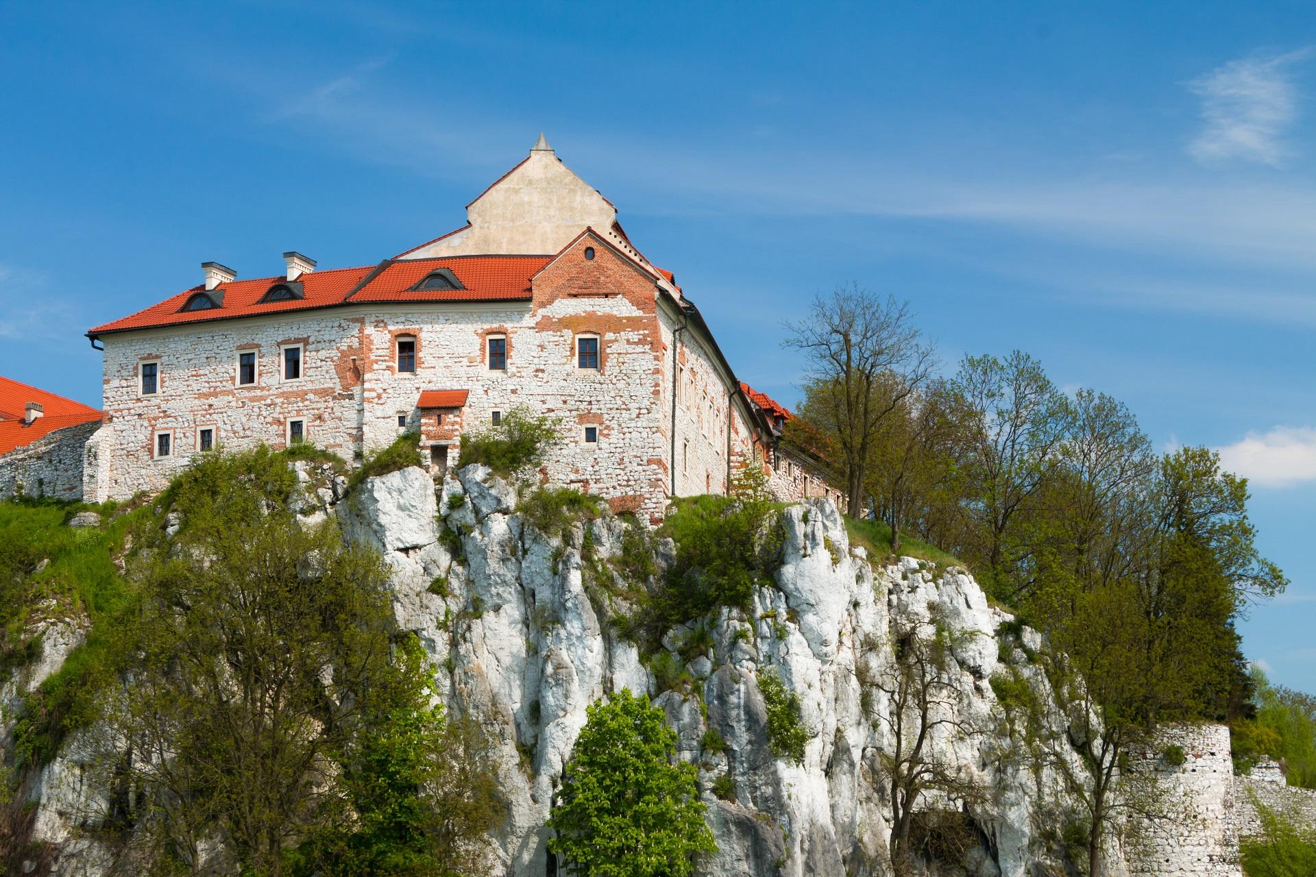 poland-benedictine-abbey-tyniec-near-krakow