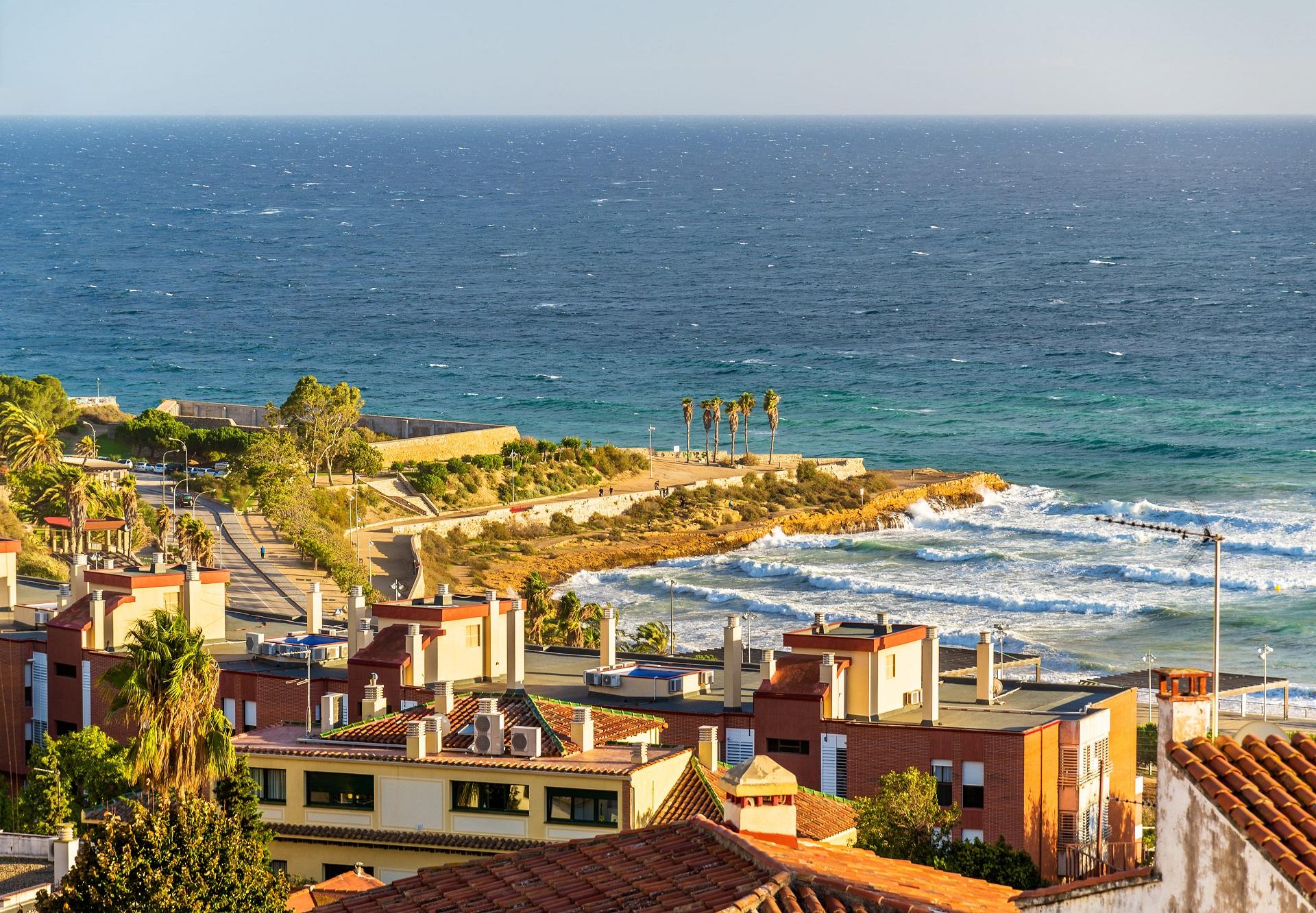 view-mediterranean-sea-tarragona-spain